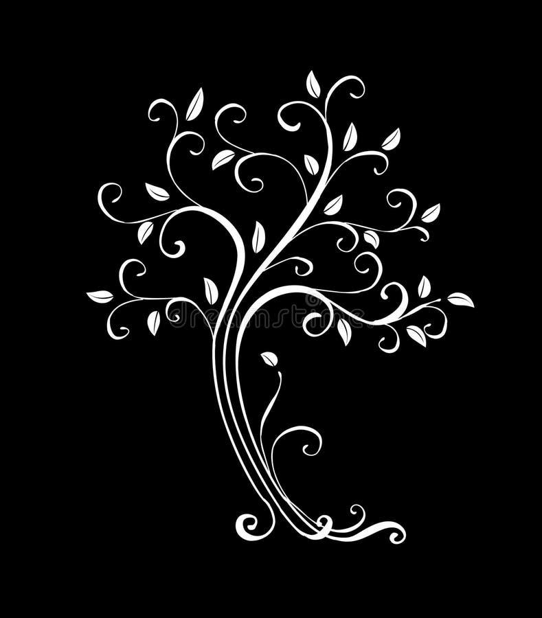 Lovely tree royalty free illustration