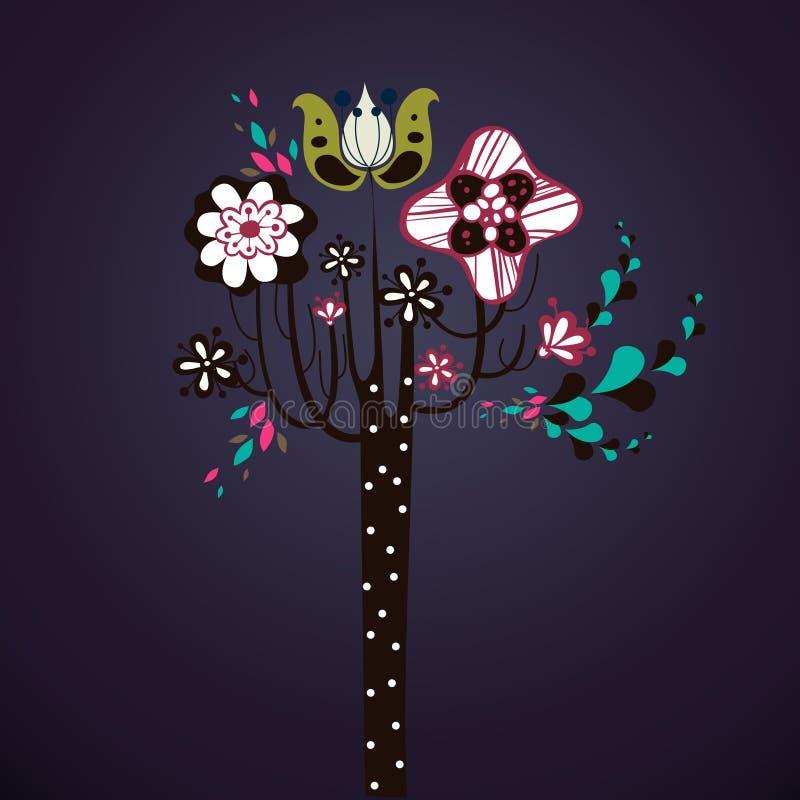 Download Lovely tree design stock illustration. Illustration of beautiful - 9014761