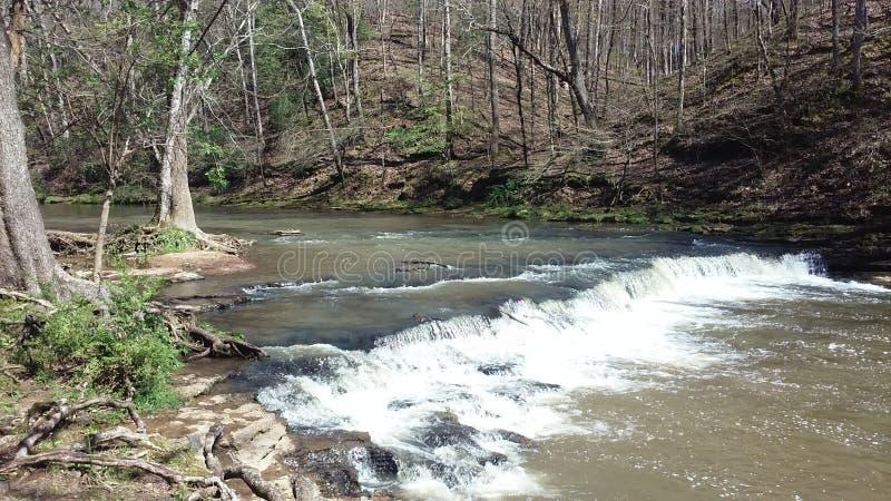 Download Lovely View Of David Crockett Falls Stock Image - Image: 71615295