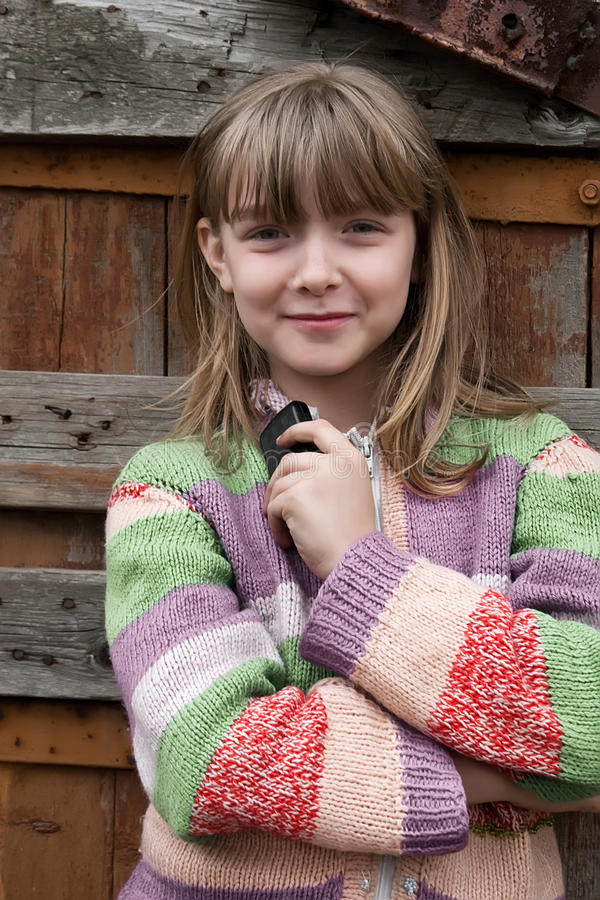 Download Lovely Village Young Girl Stock Images - Image: 19744644