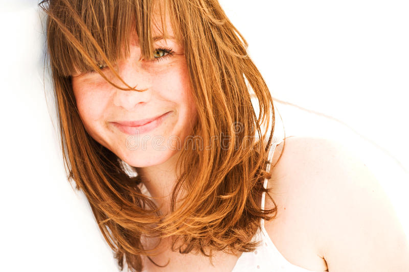 Lovely woman stock photography