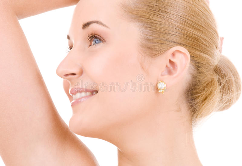 Download Lovely woman stock photo. Image of looking, happy, hygiene - 9722068