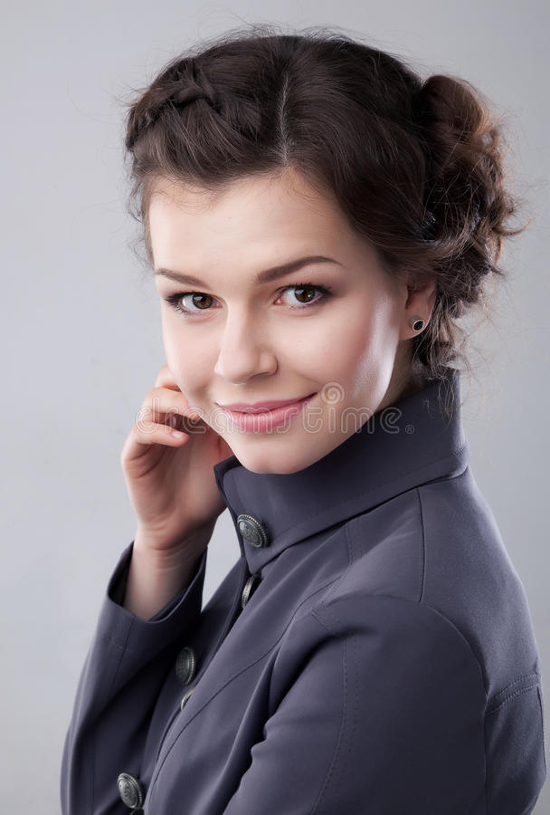 Download Lovely Young Business Lady Smiling Stock Photo - Image: 24329904