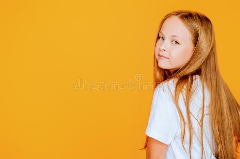 Lovely young girl royalty free stock image