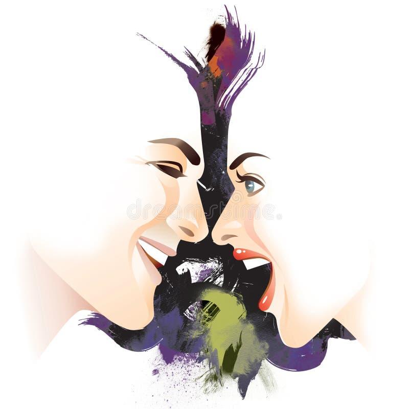 Download Lover stock illustration. Image of handsome, heterosexual - 10954234