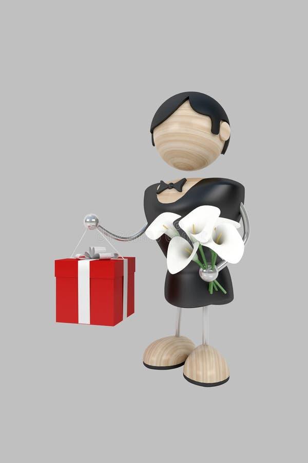 Download Lover stock illustration. Image of emotion, darling, surprise - 3946064