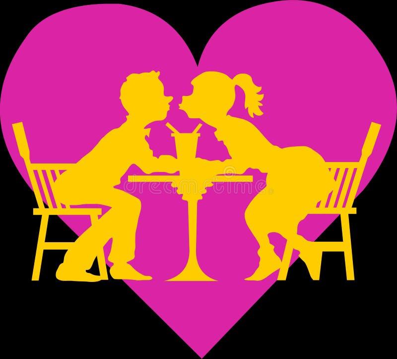 Download Lovers stock illustration. Illustration of heart, lovey - 12883955