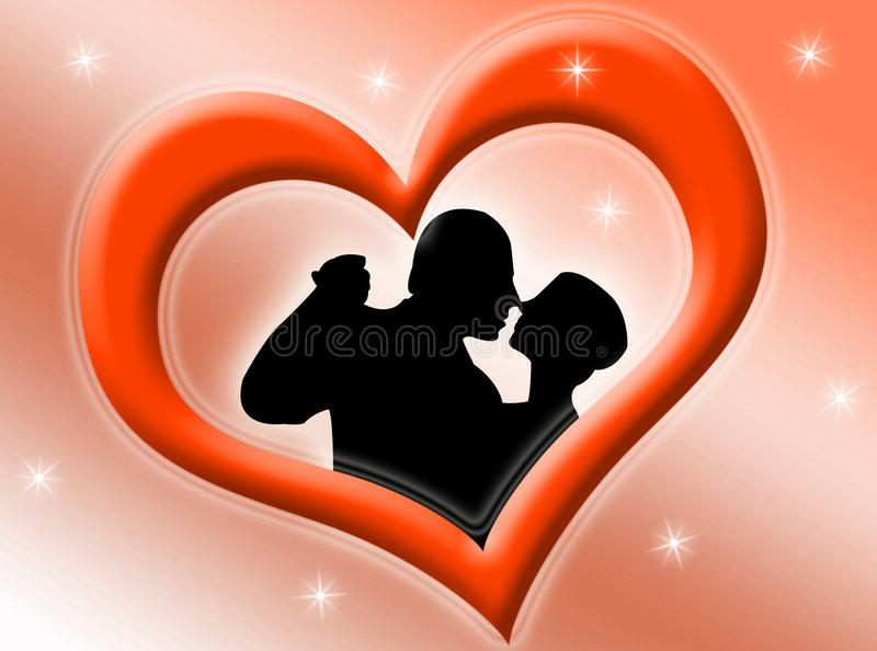 Lovers vector illustration