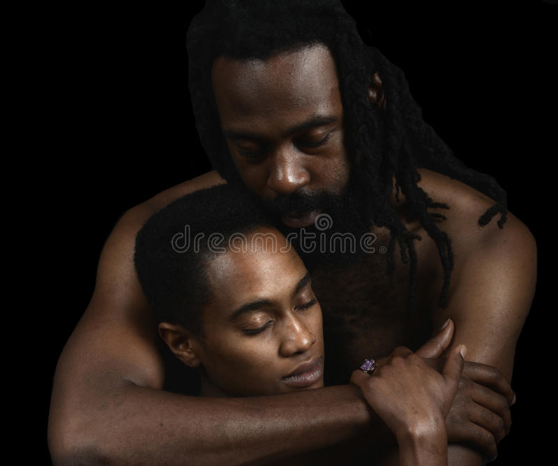 The Lovers royalty free stock photo