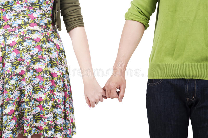 Download Lovers holding hands stock image. Image of casual, female - 22738519
