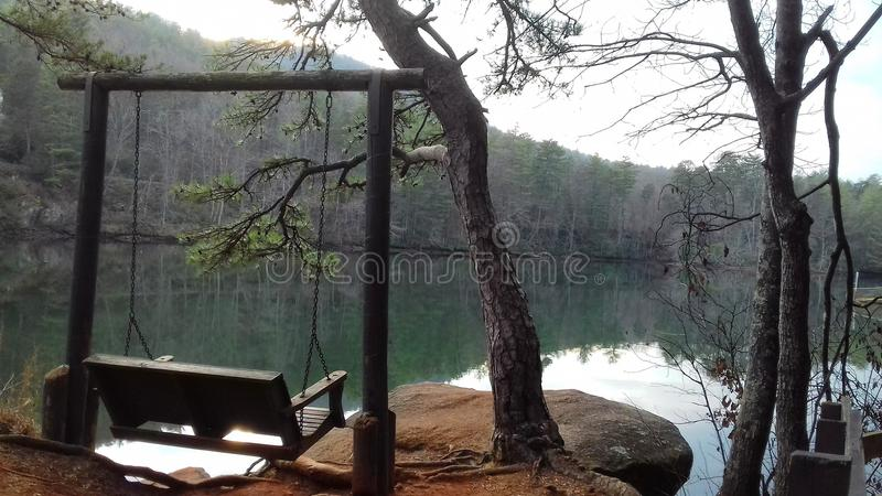 Loveseat dal lago immagini stock libere da diritti