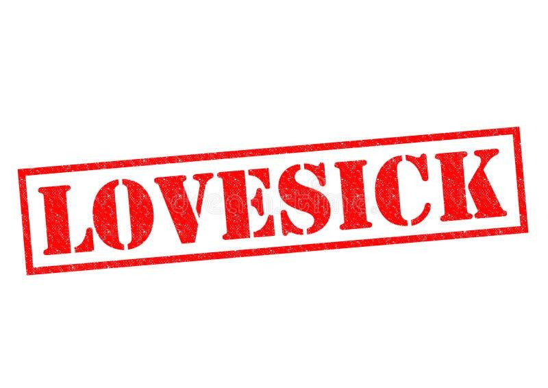 lovesick ilustração stock