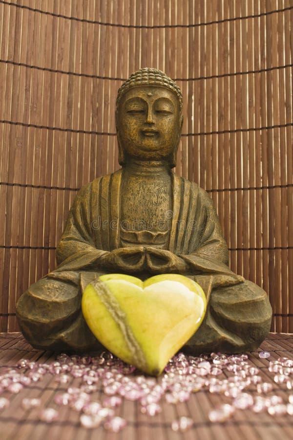 Loving Buddha 02 stock photography