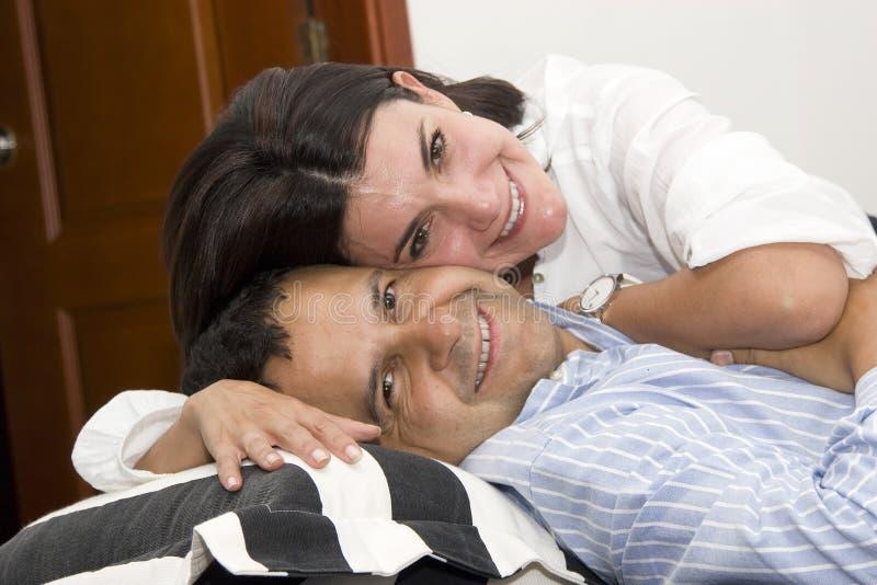 Loving couple stock image