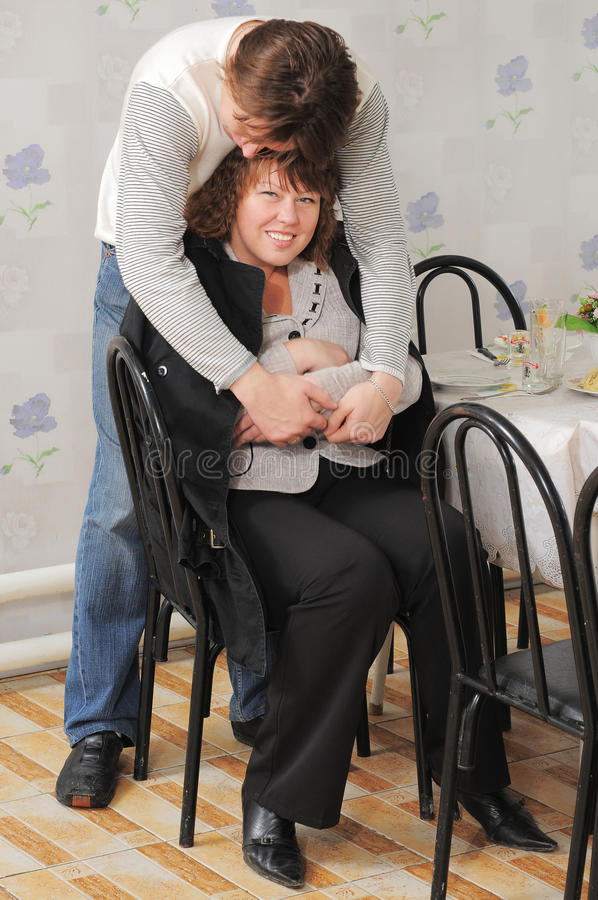 Free Loving Couple. A Family. Stock Photography - 12884962