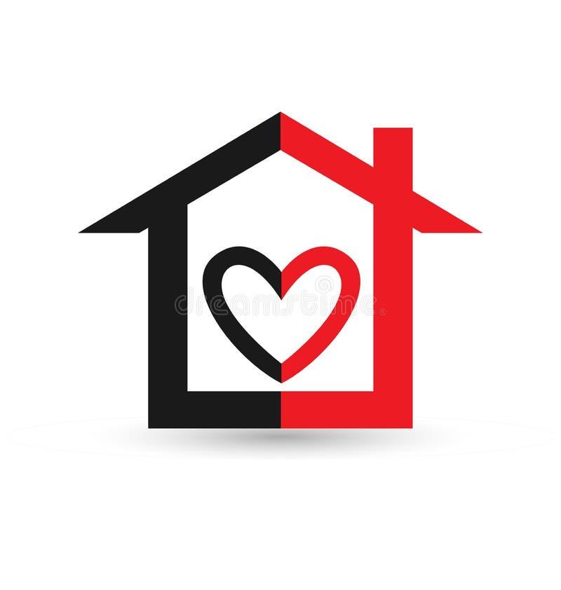 Home Black Silhouette House Outline Vector Logo Stock