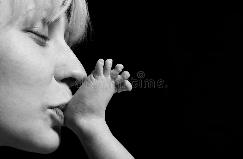 Download Loving mother stock image. Image of birth, loving, love - 8940333