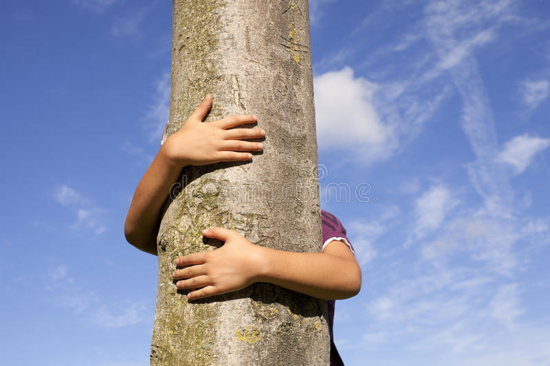 Loving nature stock image