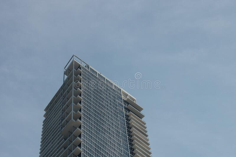 Low Angle Photo of Tower Building during Cloudy Sky stock image
