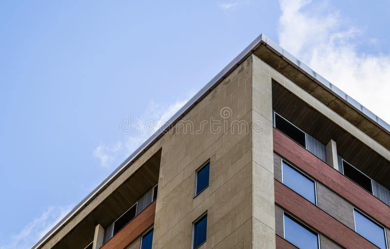 Low Angle Photography of Brown Concrete Building stock images