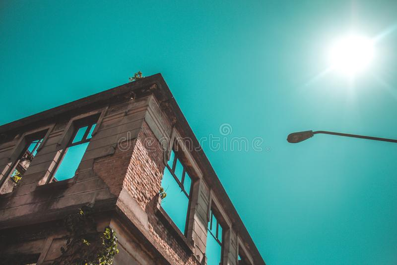 Low Angle Photography of a Building royalty free stock image