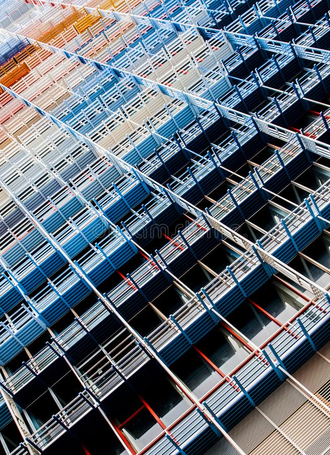 Low Angle Photography of High Rise Building stock images