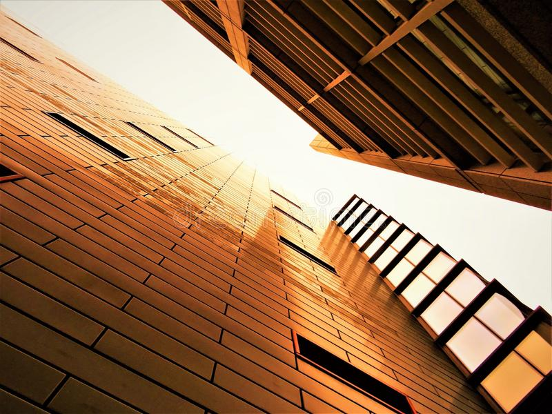 Low-angle Photography of High-rise Building royalty free stock photo