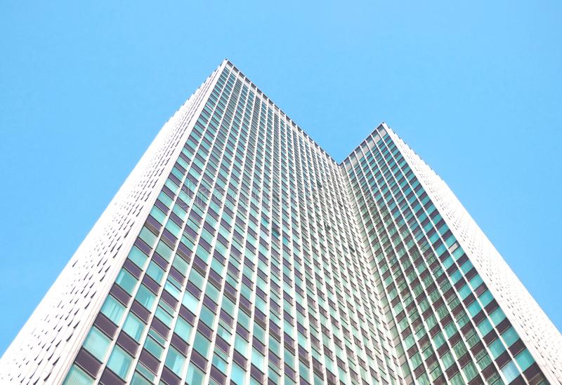 Low Angle Photography of High-Rise building royalty free stock images