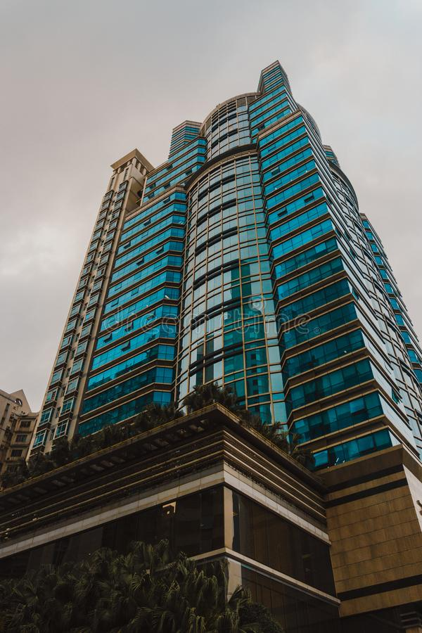 Low Angle Photography of High-rise Building stock photo