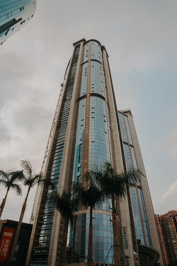 Low Angle Photography of High-Rise Building stock image