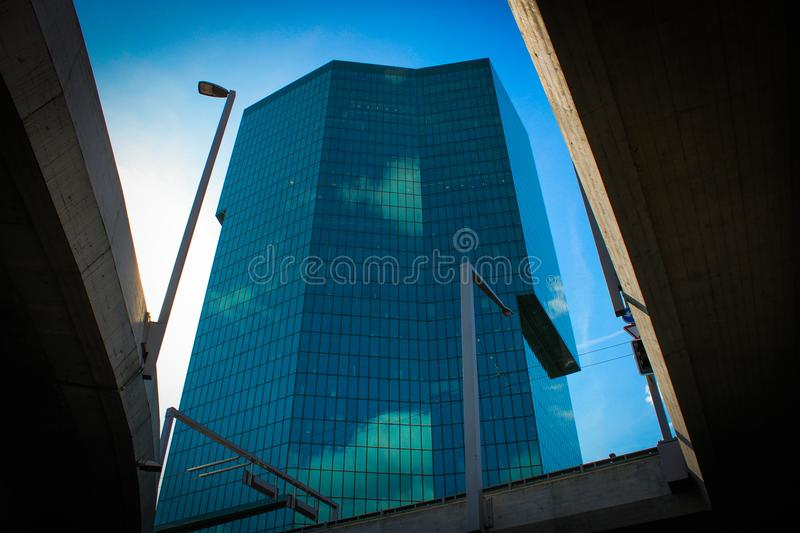 Low Angle Photography of High-Rise Building royalty free stock photo