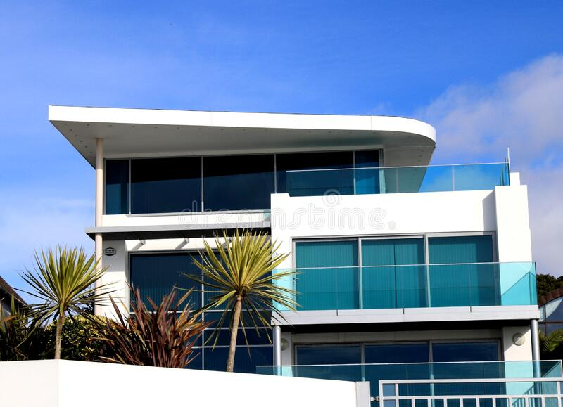 Low Angle View of Balcony Against Sky royalty free stock image