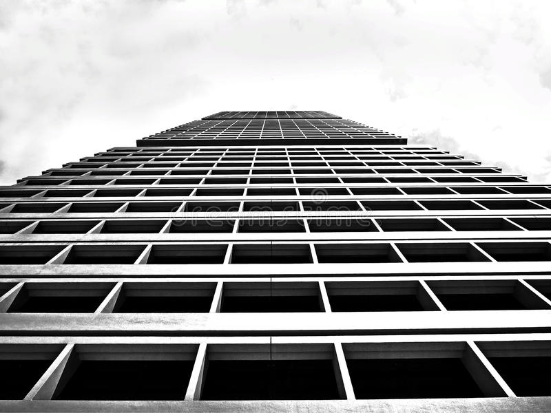 Low Angle View On Grey High Rise Building Under White Sky Free Public Domain Cc0 Image