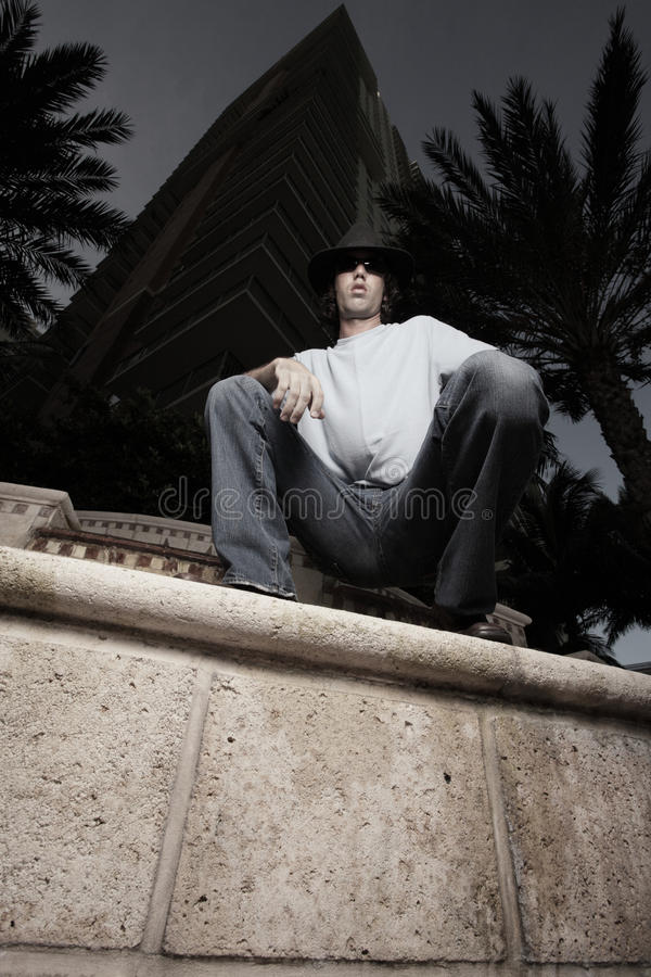Download Low Angle View Of A Handsome Man Royalty Free Stock Image - Image: 10582716