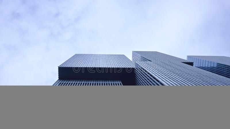 Low Angle View of Office Building Against Sky royalty free stock photo