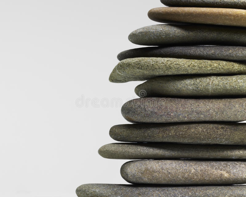 Download Stacked flat pebbles stock photo. Image of other, pebble - 30264352