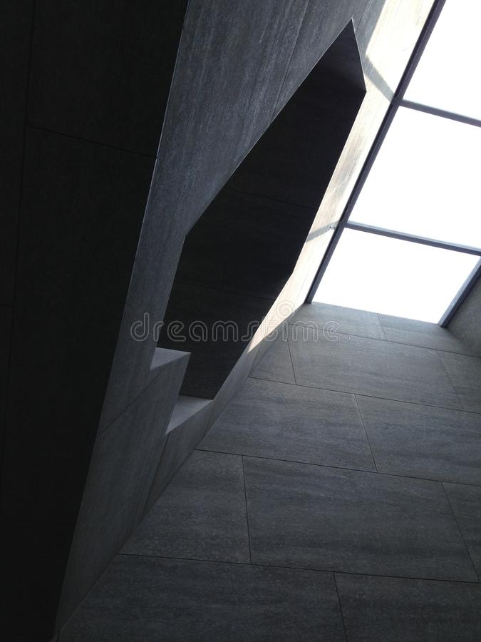Low Angle View of Steps stock images