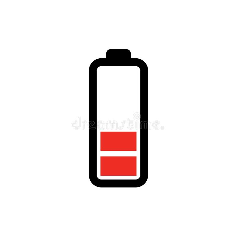 Low Battery Icon - Power Batteryillustration - Electricity Symbol ...