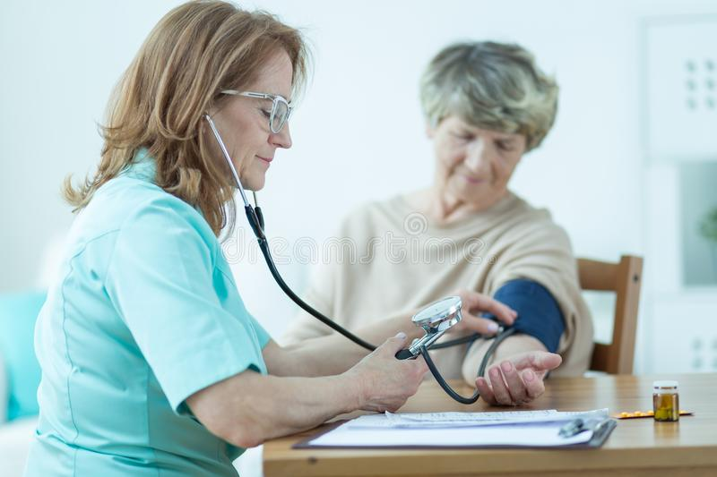 Low blood pressure stock images