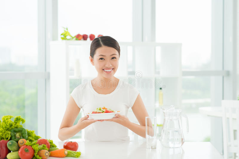 Download Low-calorie lunch stock photo. Image of meal, dish, lifestyle - 31998868