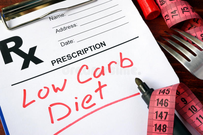 Low carb diet royalty free stock photos