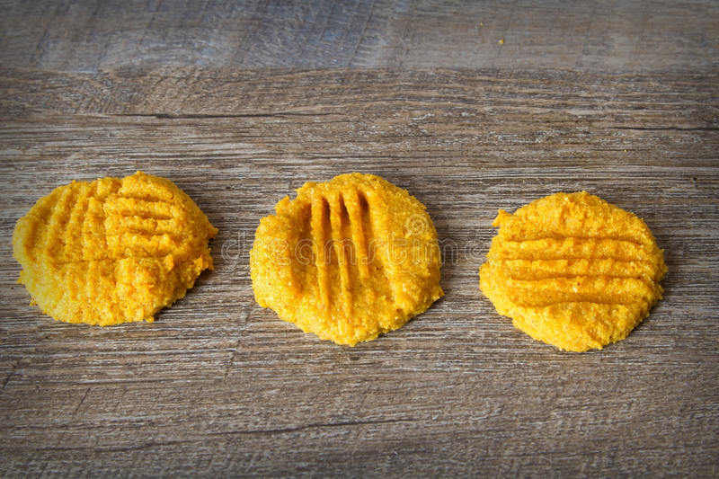 Low Carb Keto Pumpkin Butter Cookies. Ketogenic atkins pumpkin butter cookies for a low carb diet or gluten free diet stock images