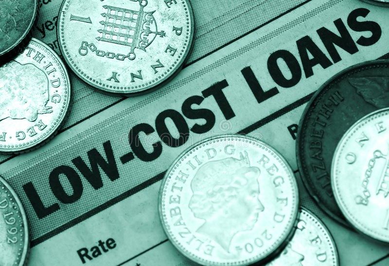 Low Cost Loan royalty free stock photography
