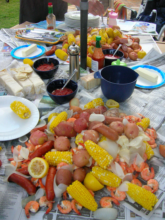 Free Low Country Boil Stock Photos - 945073