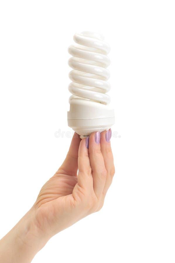 Low-energy Bulb Royalty Free Stock Photo