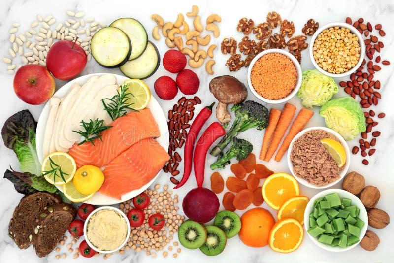 Low GI Diet Health Food for Diabetics stock photos