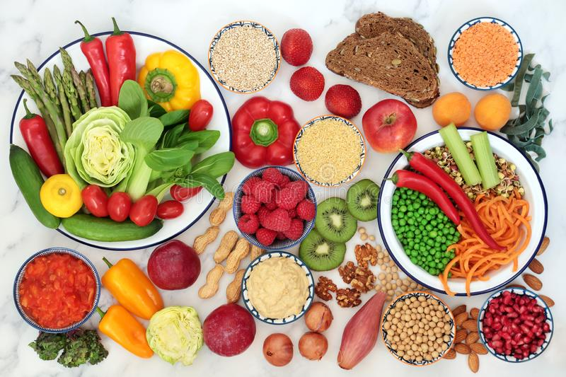 Low Glycemic Health Food for Diabetics stock photo