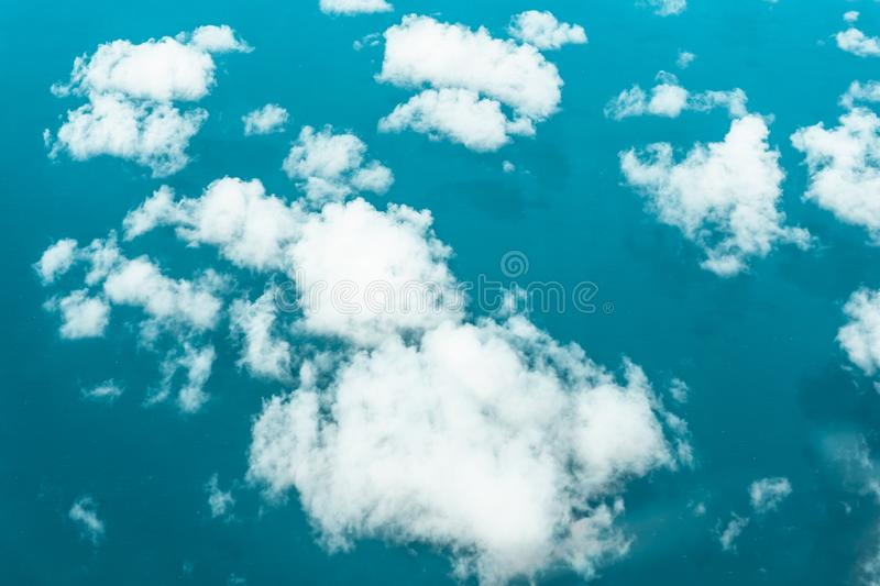 Low hanging cotton candy stock image