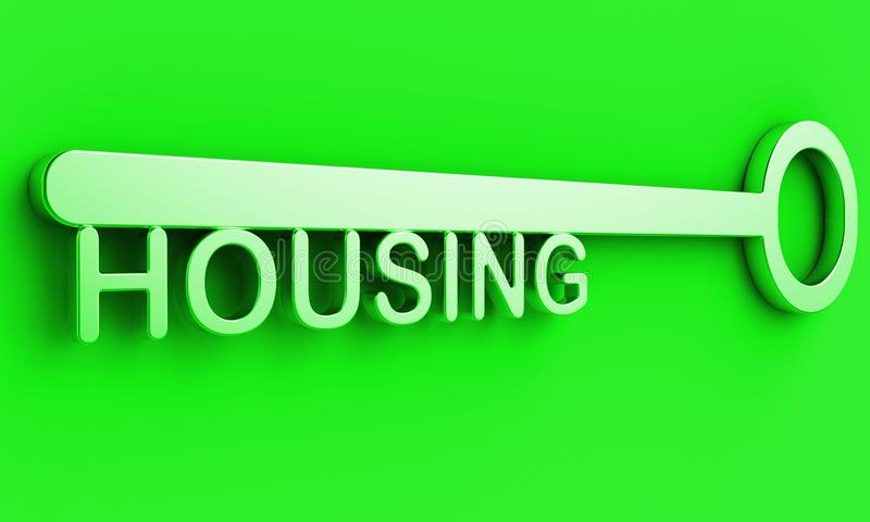 Low Income Homes And Houses Symbol For Poverty Stricken Renters And Buyers - 3d Illustration. Low Income Homes And Houses Symbol For Poverty Stricken Renters And royalty free illustration