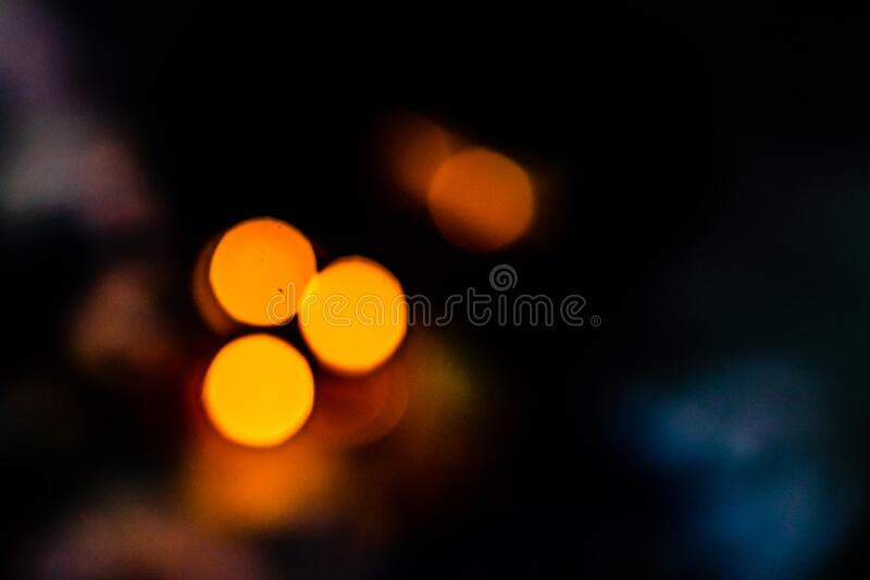 Low light image of bokeh background. festival concept royalty free stock images